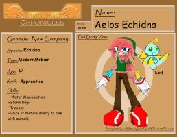 SLC Profile:  Aelos Echidna by Furyshield
