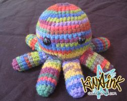 Rainbow Octopus by kina