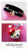 Hello Kitty Bracelet by ChocoAng3l