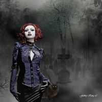 GOTHIC DARK WOMAN by FABRYKING61