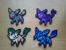Hama Eevee collection 2 by tony-boi