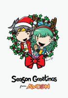 AVCon's Christmas Card by StolenStars