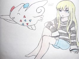 -Anime Drawing- by PrincessIke