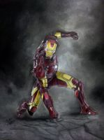 Iron Man by subhy