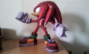 Knuckles the Echidna - b by Destro2k