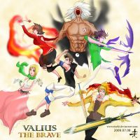 Valius The Brave by riseki