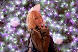 Vocaloid: Early Christmas by Piyon-Pyon