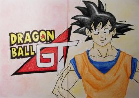 Dragon Ball GT by MissCreamBerry