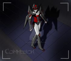 Commission for Cyberwing by Kath-the-shadow