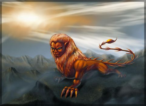 Manticore by mantykhor