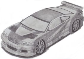 BMW M3 GTR E46 by TheFreeman186
