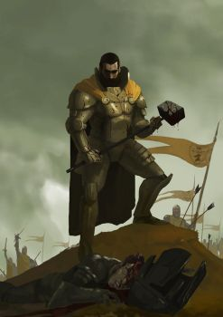Young Robert Baratheon by Nilmonils
