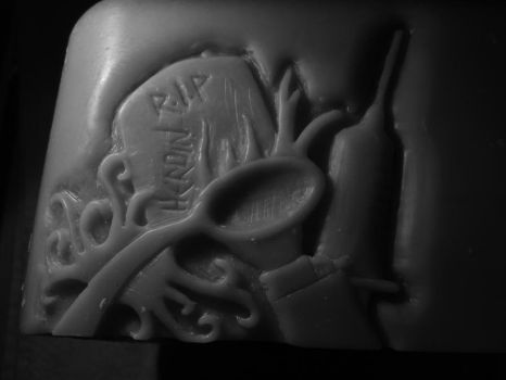 Drug Carving in Wax 1 by Amber-wednesdaY