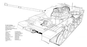 Chieftain Tank by hod05