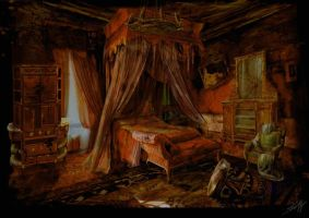 The room of the Madame by staudtagi