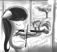 Octavia Violin Scratch by Thorheim