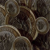 One Cat_Fruit_Clock Coins by Rickbw1