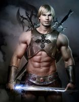 Masters Of The Universe : He-man by sgorbissa