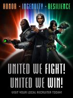 STO Delta Recruit Poster - United We Win by thomasthecat