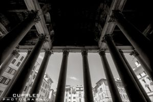 Pantheon Pillars by cupplesey