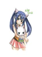 Wendy Marvell and Charle by YumiiYumYum