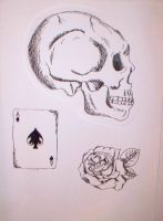 Tattoo Sketches by melissadallison