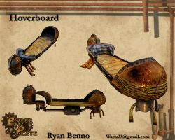 Boiler Plate: Hoverboard by Blvd--Nights