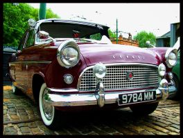1950s Ford Consul by thefunkyinuit