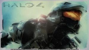 [] Halo 4 [] - [] The Chief [] - [] Wallpaper [] by PokeTheCactus