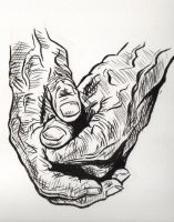 Old Hands 2 by Misaky