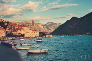 Kotor Bay by Dapicture