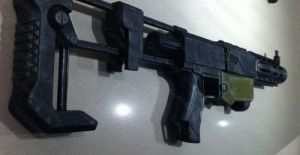 Nerf Recon military metal mod by GirlyGamerAU