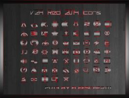 V2A Red Icons by Fleescher01