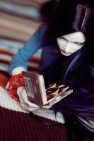 Adel reading... by surya-s-dolls