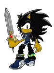 J the Hedgehog - SA Style by Xssys