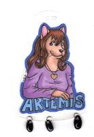 Artemis Badge by hollyann