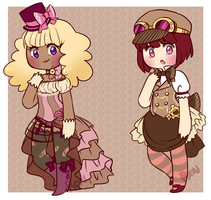 Steampunk Adopts [CLOSED] by Pyonkotcchi