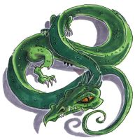 Green Dragon Aswelle by Starstew