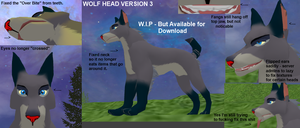 KITO Wolf Head version 3 by Some-Art