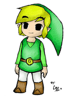 Toon Link by ChristalLovePkmn