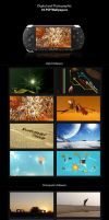16 PSP Wallpapers Pack by Pipera