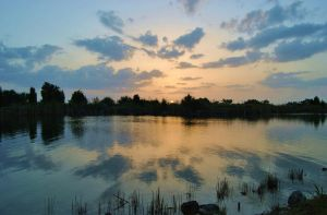 Clouds on a Pond by libertine1182