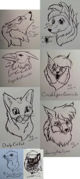 Fursona Requests by CodePepper