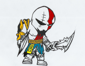 Kratos Cartoon