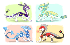 Xtricitiria Adopts - Closed! by CometShine