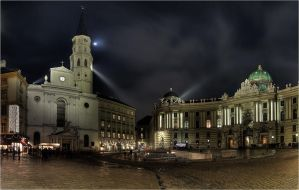 Michaelerplatz by focusgallery