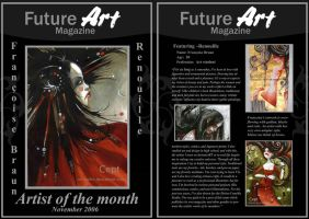 Monthly Artist - November by Future-Art-Magazine