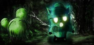 Ghostly Teemo by Namwons11