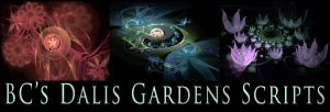 BC's Dalis Garden Scripts by Fractal-Resources