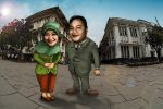 Cartoon Prewedding by nooreva
